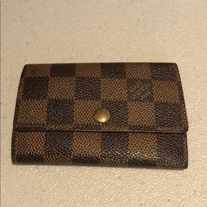 Louis Vuitton Damier Key Holder # 60